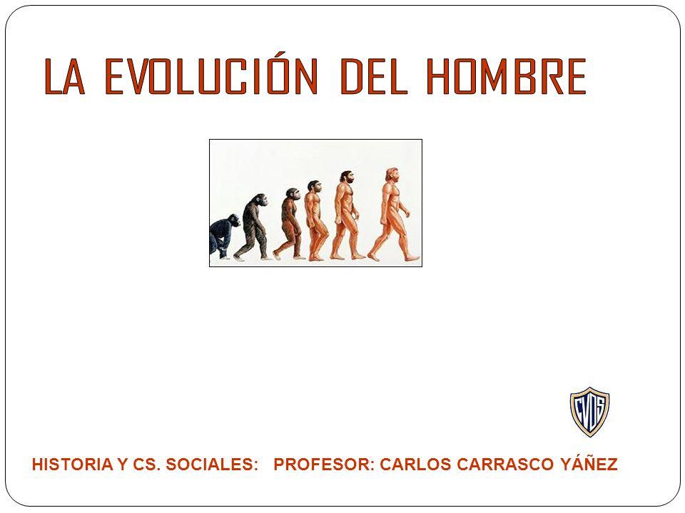 HISTORIA Y CS. SOCIALES: PROFESOR: CARLOS CARRASCO YÁÑEZ