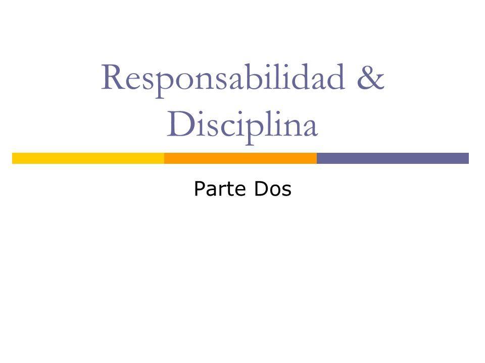 ¿ Qué significa Ser Responsable .Aceptar nuestras obigaciones.
