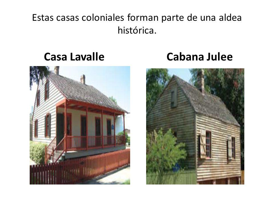 Estas casas coloniales forman parte de una aldea histórica. Casa LavalleCabana Julee