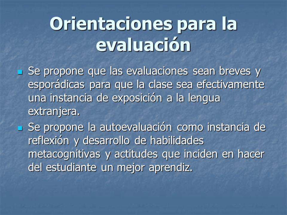 Orientaciones metodológicas para el desarrollo de las habilidades PRE/WHILE/POST PRE/WHILE/POST Uso de motivación y recursos didáctivos disponibles Us