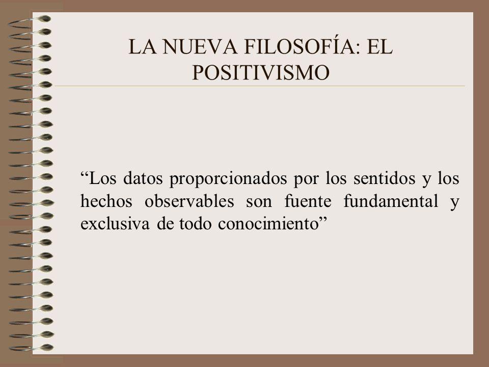 Positivismo y literatura las tesis de la teoría positiva novela preocupada por la realidad externa.