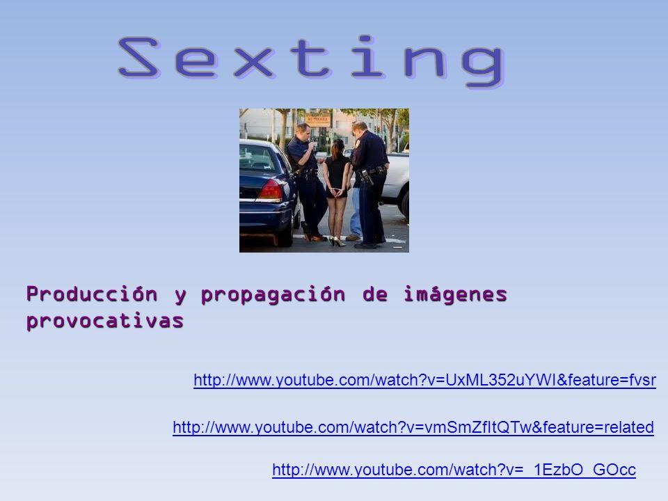 http://www.youtube.com/watch?v=xvBB_MqkRgA Engaño sutil para ganar la confianza de menores con el fin de obtener algún favor de índole sexual