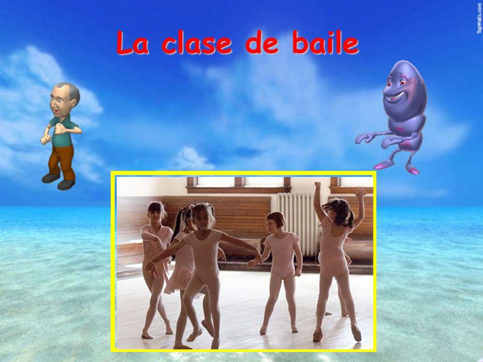 La clase de baile