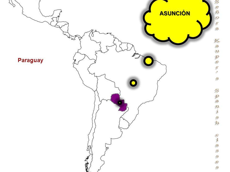 Señora Kauper s Spanish classes Paraguay ASUNCIÓN