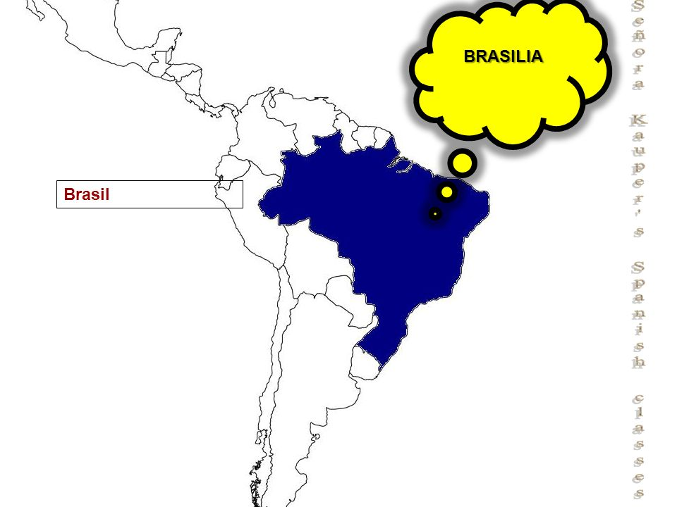 Señora Kauper's Spanish classes Brasil BRASILIA