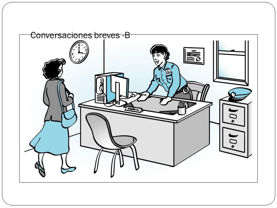 Conversaciones breves -B