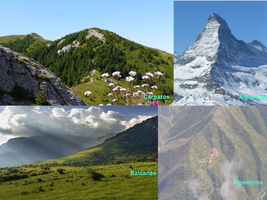 CárpatosAlpeninos Balcanes Alpeninos