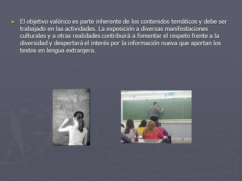 Objetivos Fundamentales Los alumnos y las alumnas desarrollarán la capacidad de: Los alumnos y las alumnas desarrollarán la capacidad de: 1.