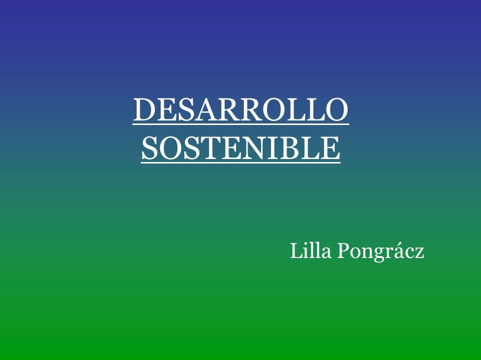 Desarrollo sostenible es un desarrollo que satisfaga las necesidades del presente sin poner en peligro la capacidad de las generaciones futuras para atender sus propias necesidades Comisión Brundtland, 1987