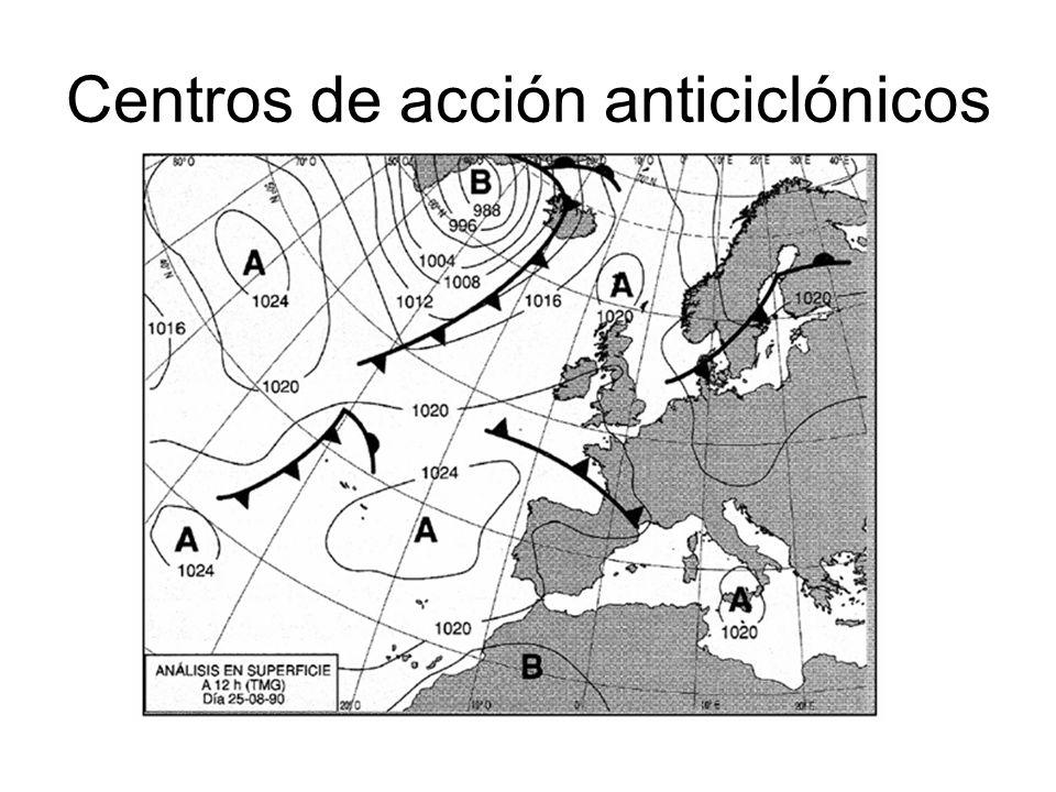 Centros de acción anticiclónicos