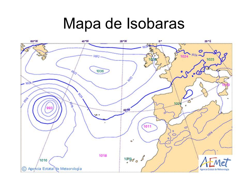 Mapa de Isobaras