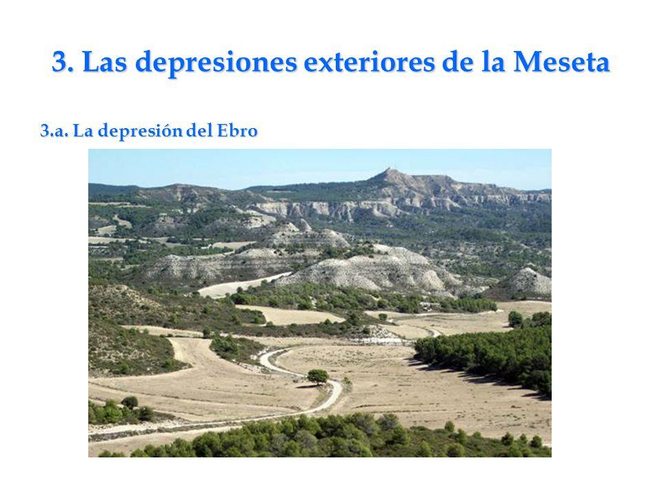 3. Las depresiones exteriores de la Meseta 3.a. La depresión del Ebro