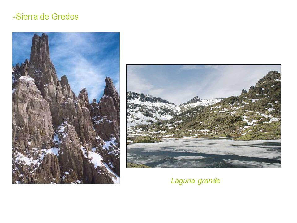 -Sierra de Gredos Laguna grande