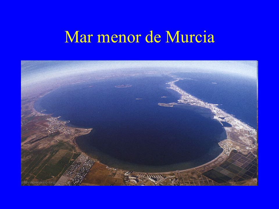 Mar menor de Murcia