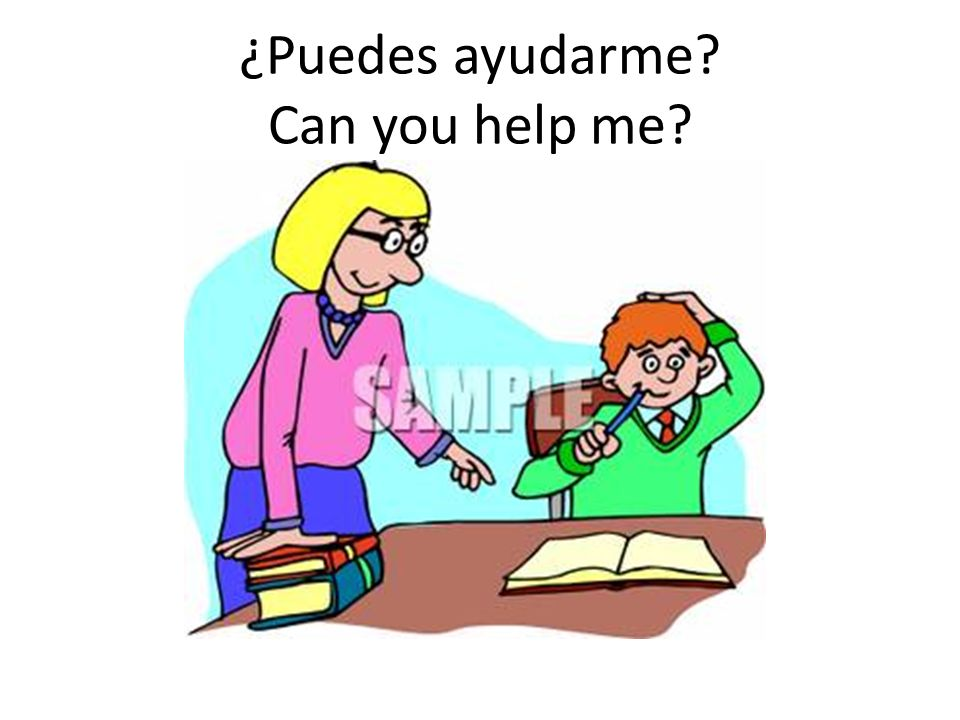 ¿Puedes ayudarme Can you help me
