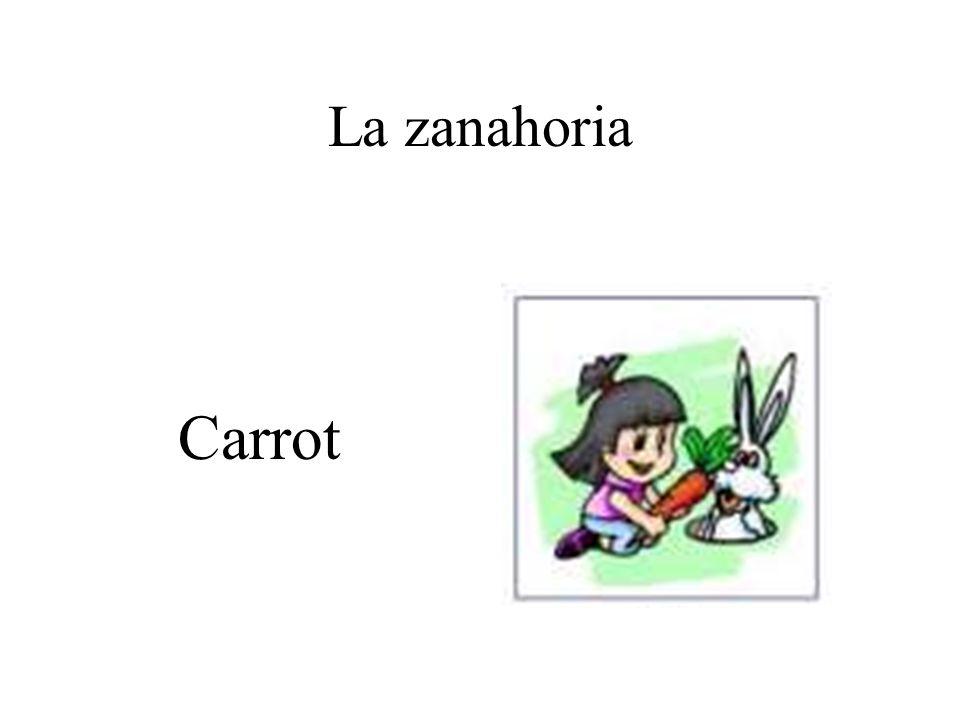 La zanahoria Carrot