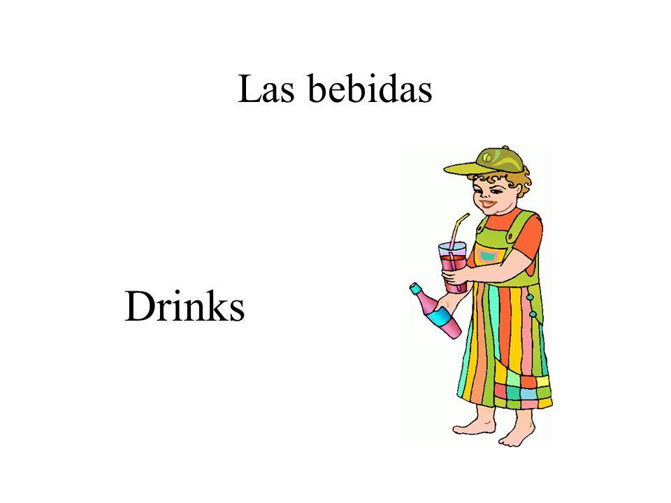Las bebidas Drinks