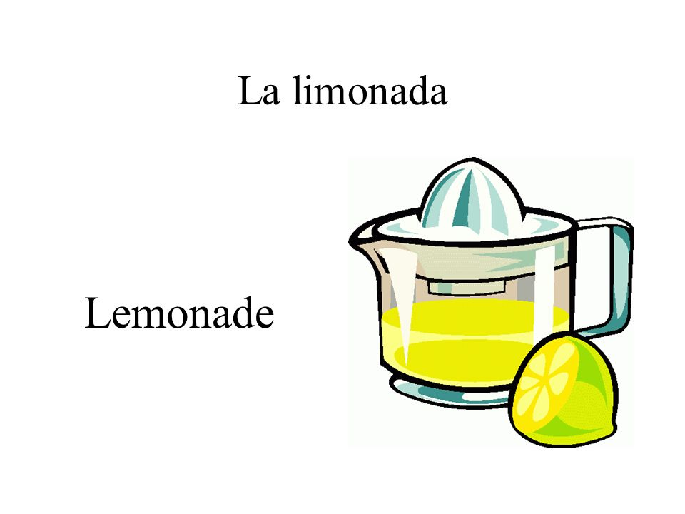 La limonada Lemonade