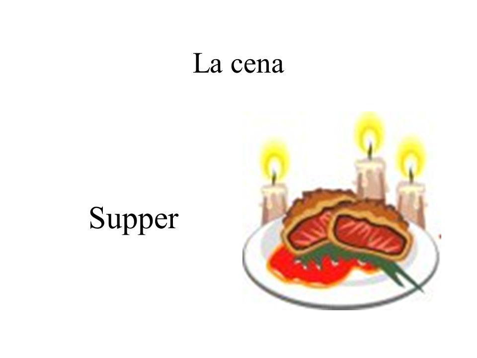 La cena Supper