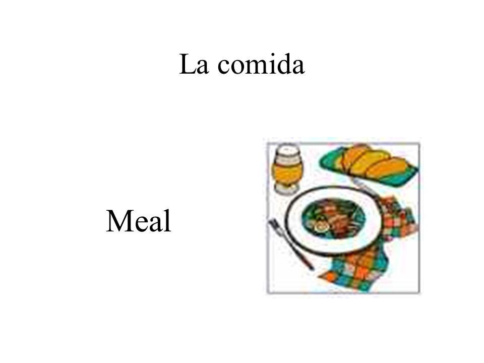 La comida Meal