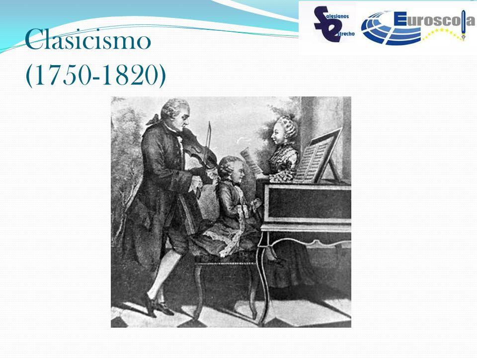 Clasicismo (1750-1820)