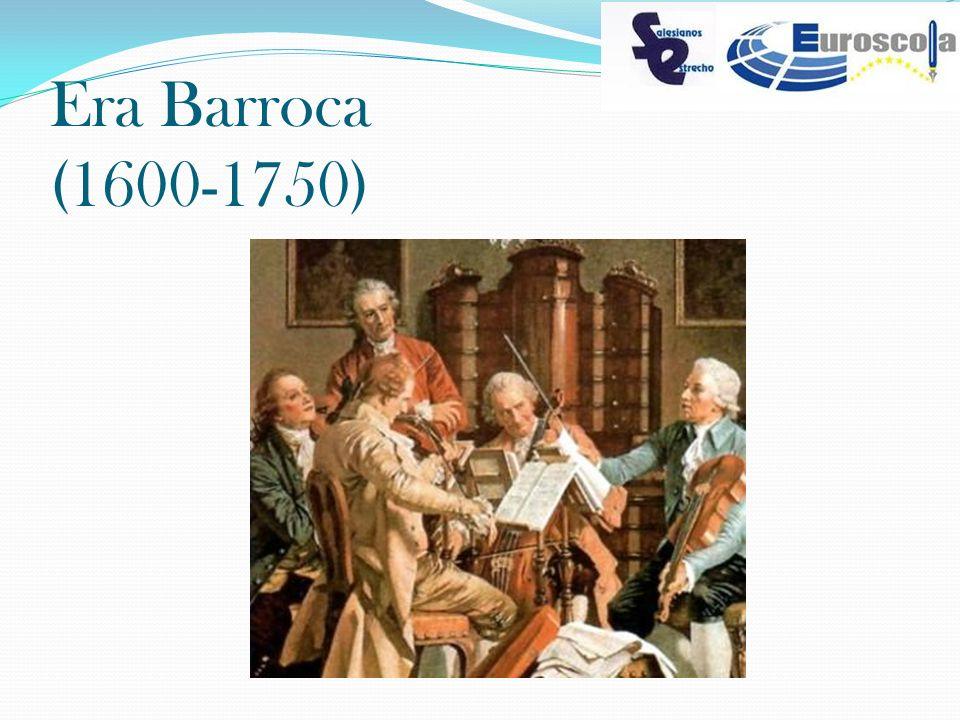Era Barroca (1600-1750)