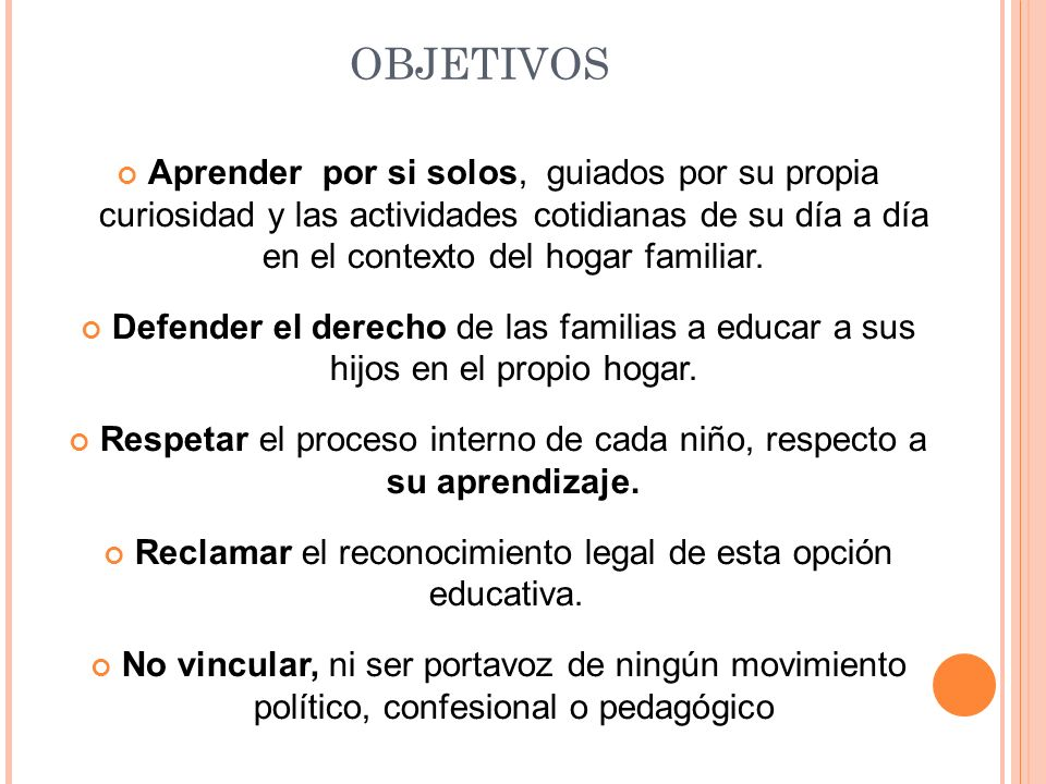 METODOLOGÍA SE PUEDEN IDENTIFICAR : La educación libre, o no escolarizada.