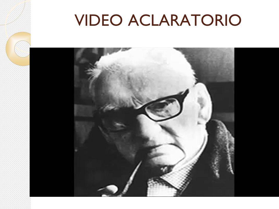 VIDEO ACLARATORIO