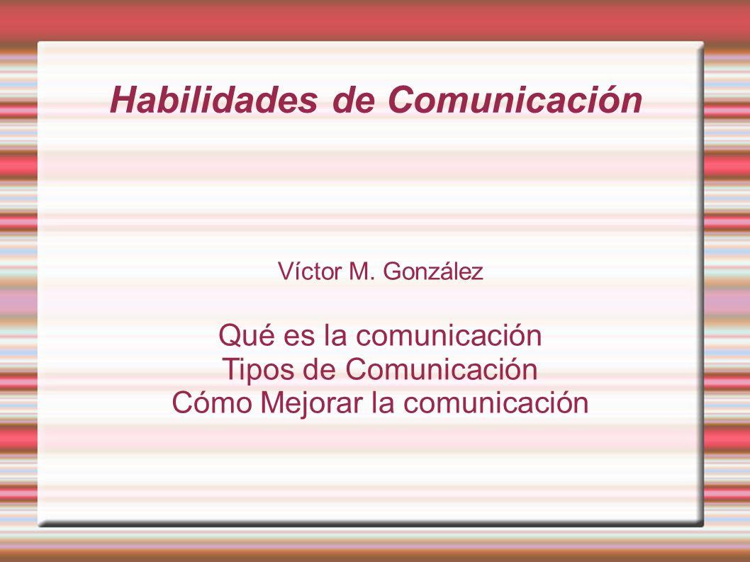 ¿Qué es la comunicación.