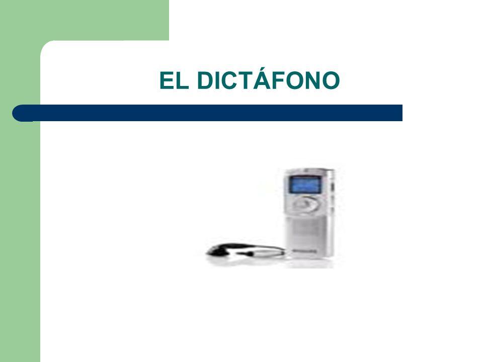 EL DICTÁFONO