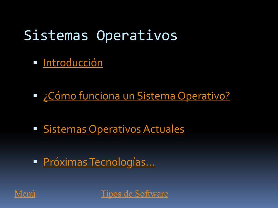 Tipos de Software Las dos categorías primarias de software son: Los Sistemas Operativos (software del sistema), que controlan los trabajos del ordenad