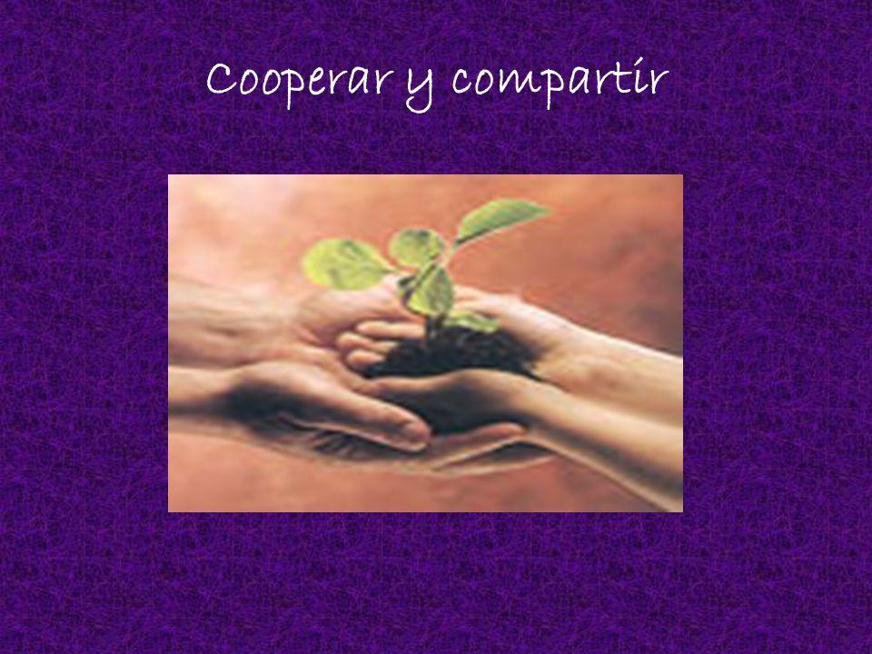 Cooperar y compartir