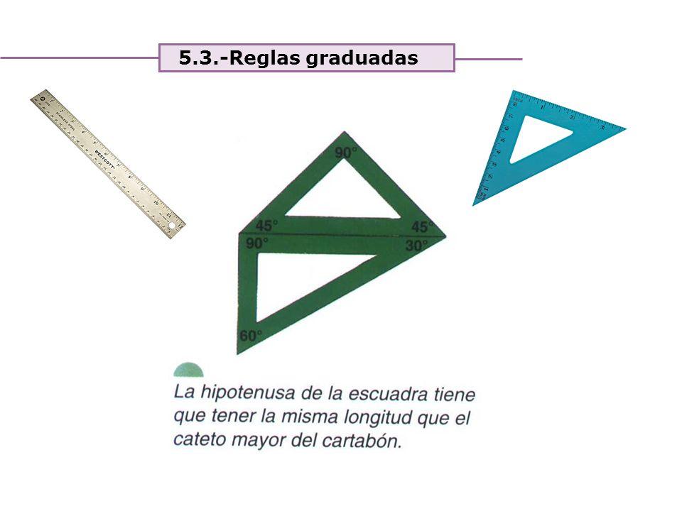Unidad 4. Expresión y comunicación de ideas 5.3.-Reglas graduadas