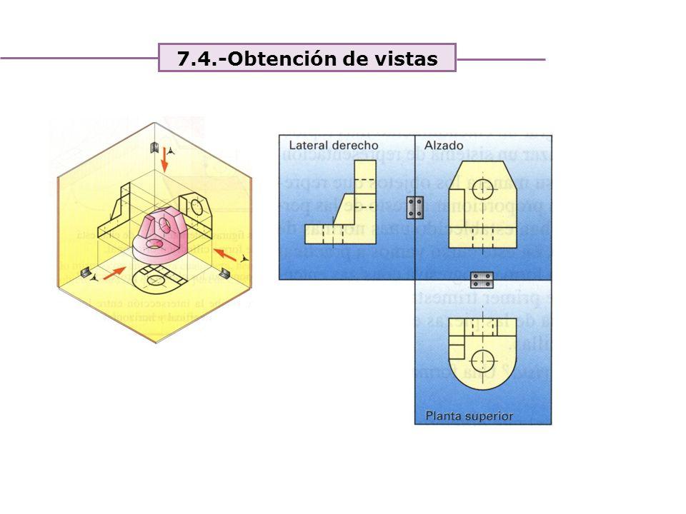 Unidad 4. Expresión y comunicación de ideas 7.4.-Obtención de vistas