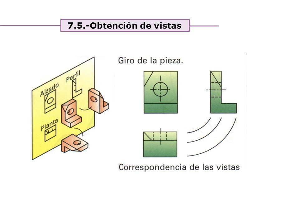 Unidad 4. Expresión y comunicación de ideas 7.5.-Obtención de vistas