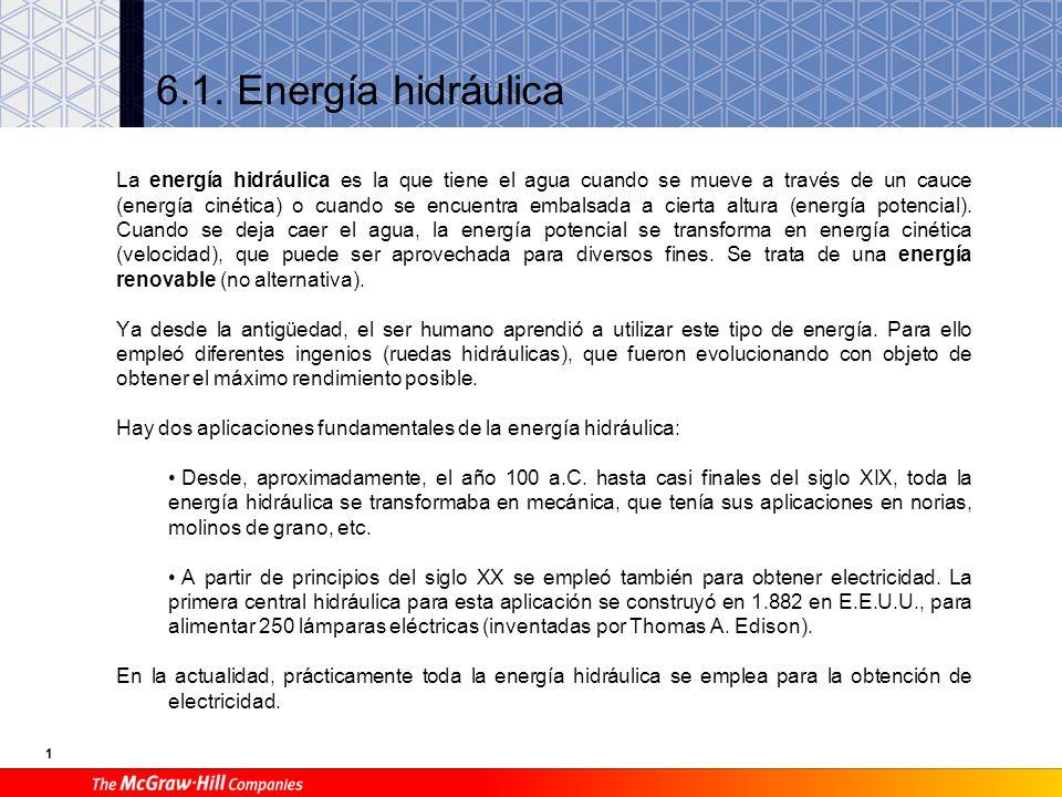 Energías renovables 6 Unidad