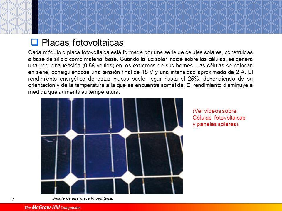 16 Horno solar Horno solar de Odeillo. Consiste en concentrar en una pequeña zona o punto los rayos solares que inciden en una superficie muy grande e
