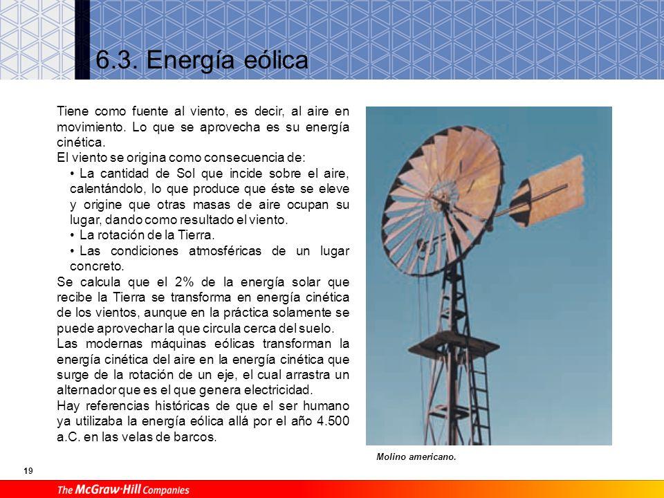 18 Ejercicios: 4º. Un colector solar plano que tiene una superficie de 4 m 2 debe calentar agua para uso doméstico. Sabiendo que el coeficiente de rad