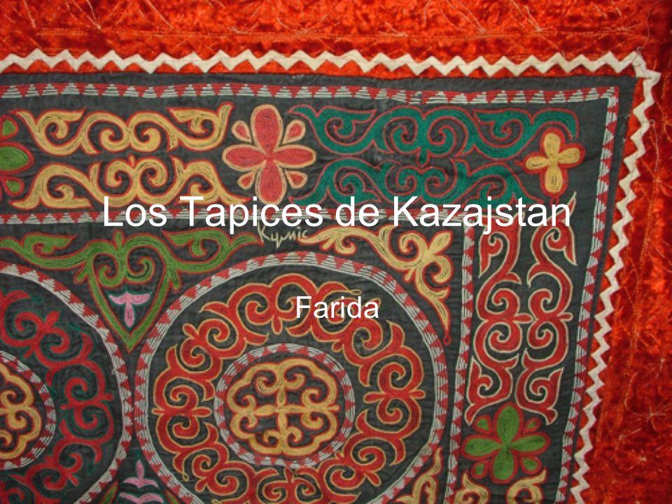 Los Tapices de Kazajstan Farida