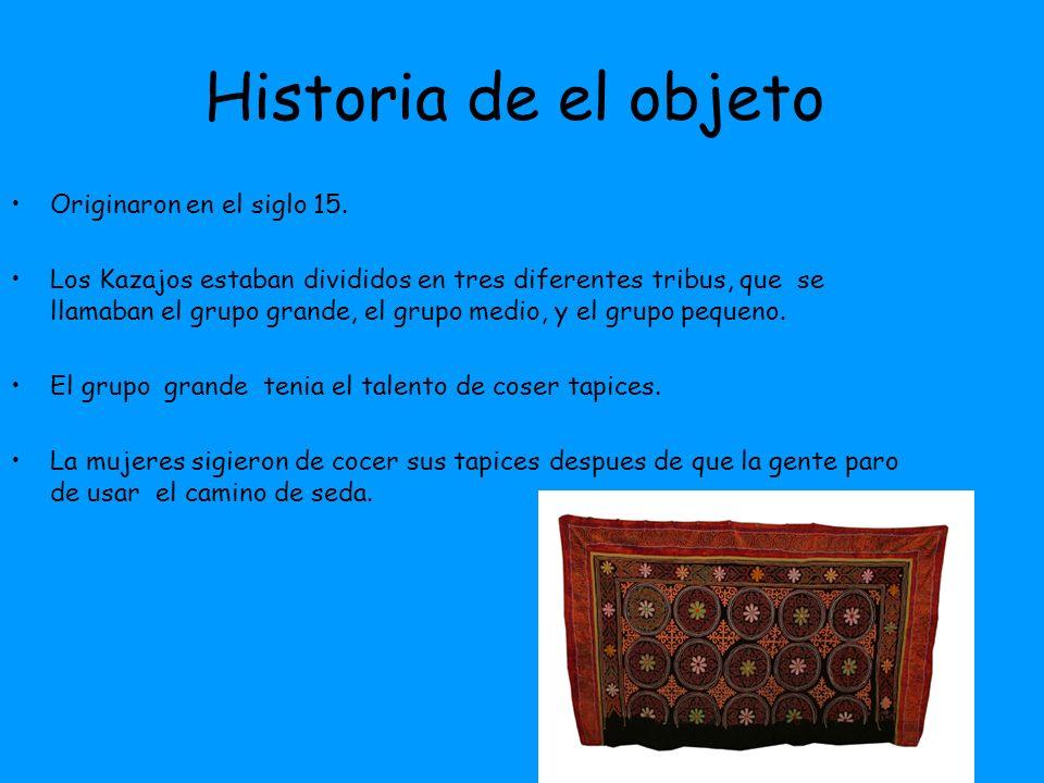 Su importancia en el pasado Usada Para el Comercio.