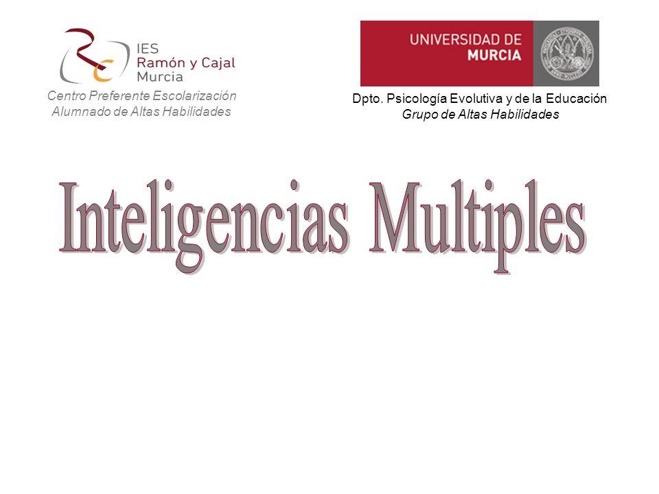 Todo empezó con Gardner, 1983 Estructuras de la mente… Las Inteligencias Múltiples (IM) … propone la existencia de siete Inteligencias, más tarde añade la Naturalista (1998) y la Existencial