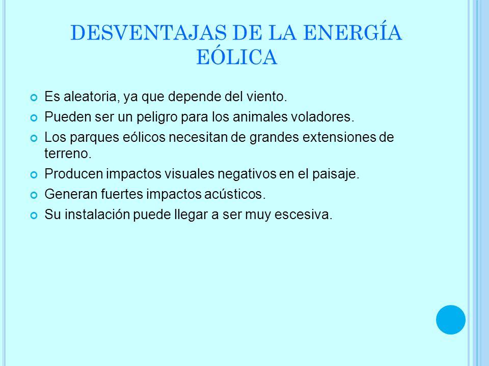 ENERGÍA EÓLICA EN ESPAÑA: La eólica batió récord y aportando el 64% de la electricidad en España a principios de 2013.