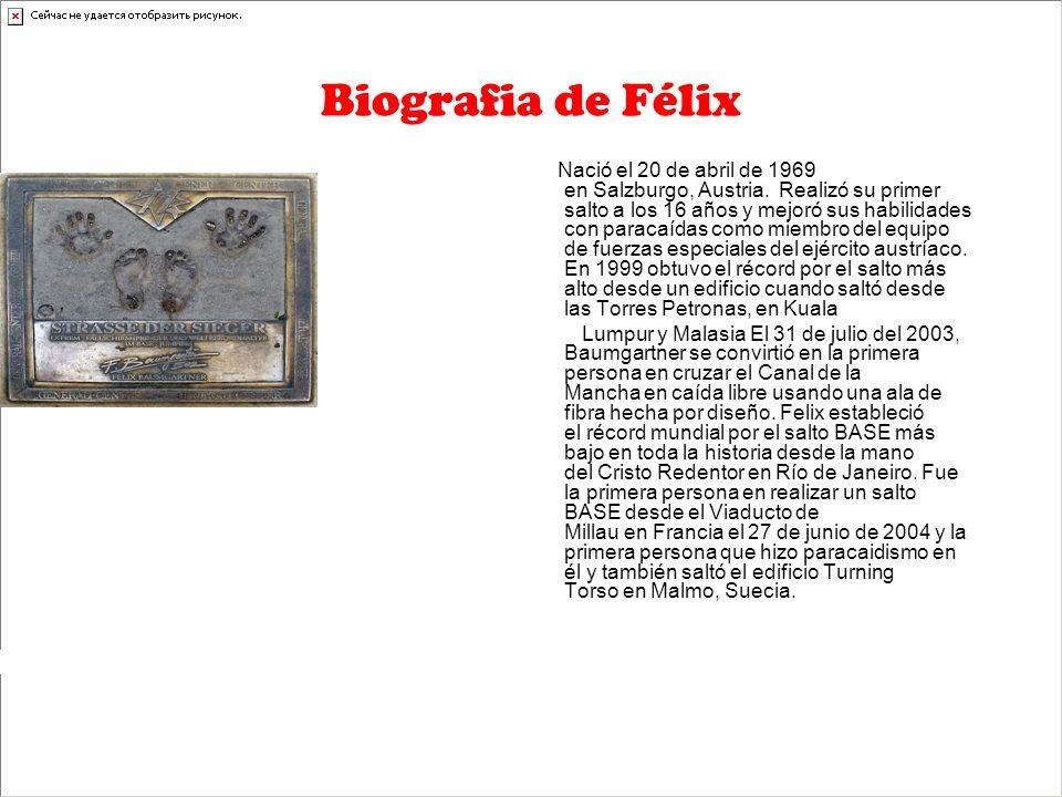 Biografia de Félix Nació el 20 de abril de 1969 en Salzburgo, Austria.