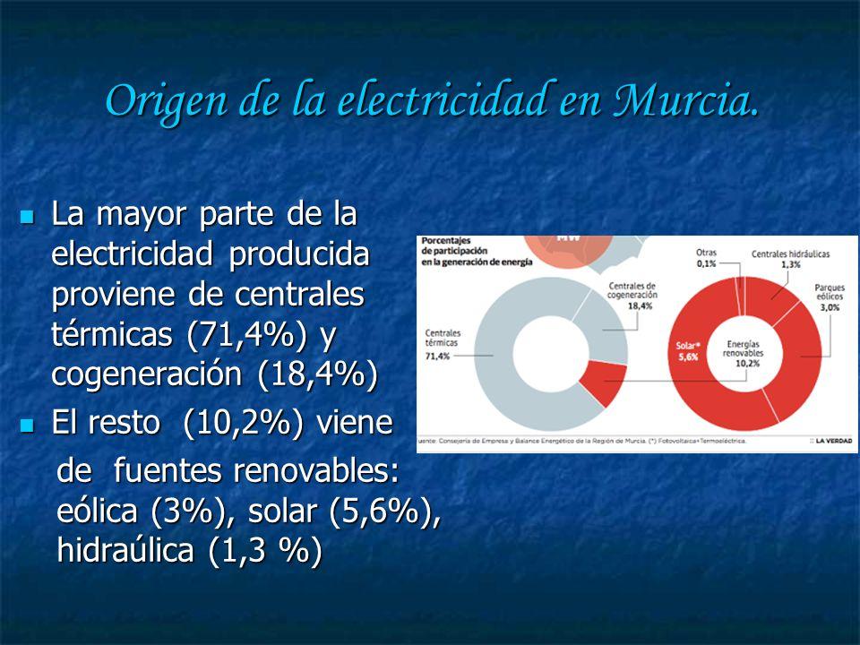 Otras fuentes :Energía eólica Existen varios parques eólicos para la producción de energía eléctrica.