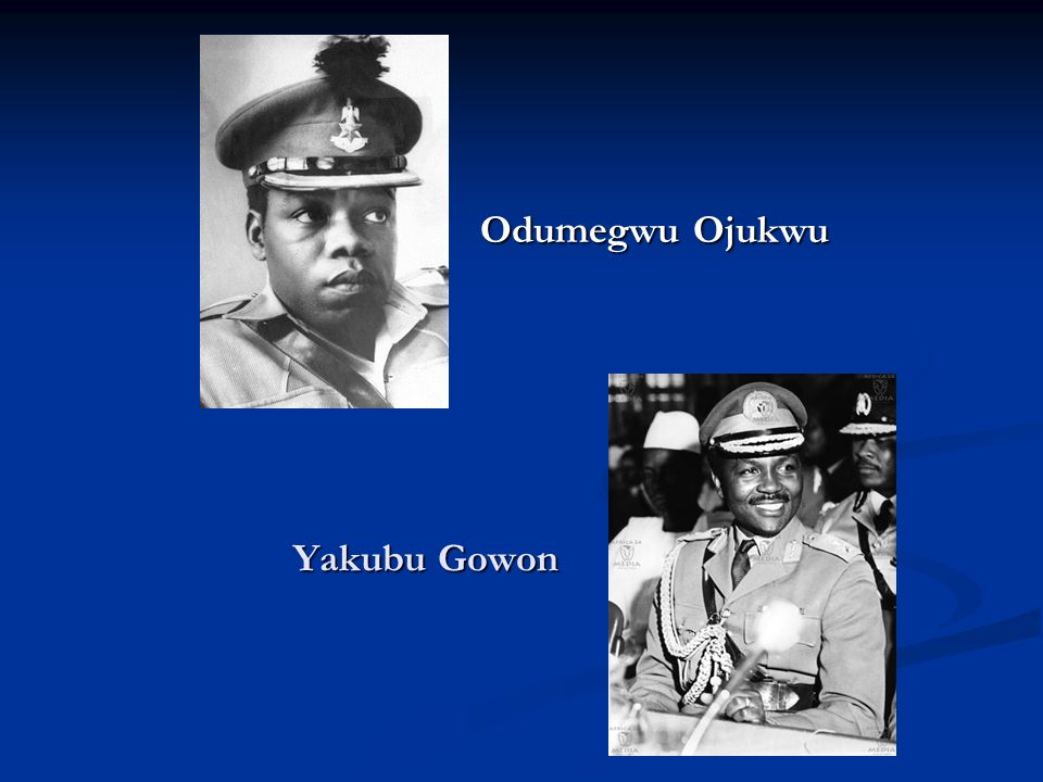 Yakubu Gowon Odumegwu Ojukwu