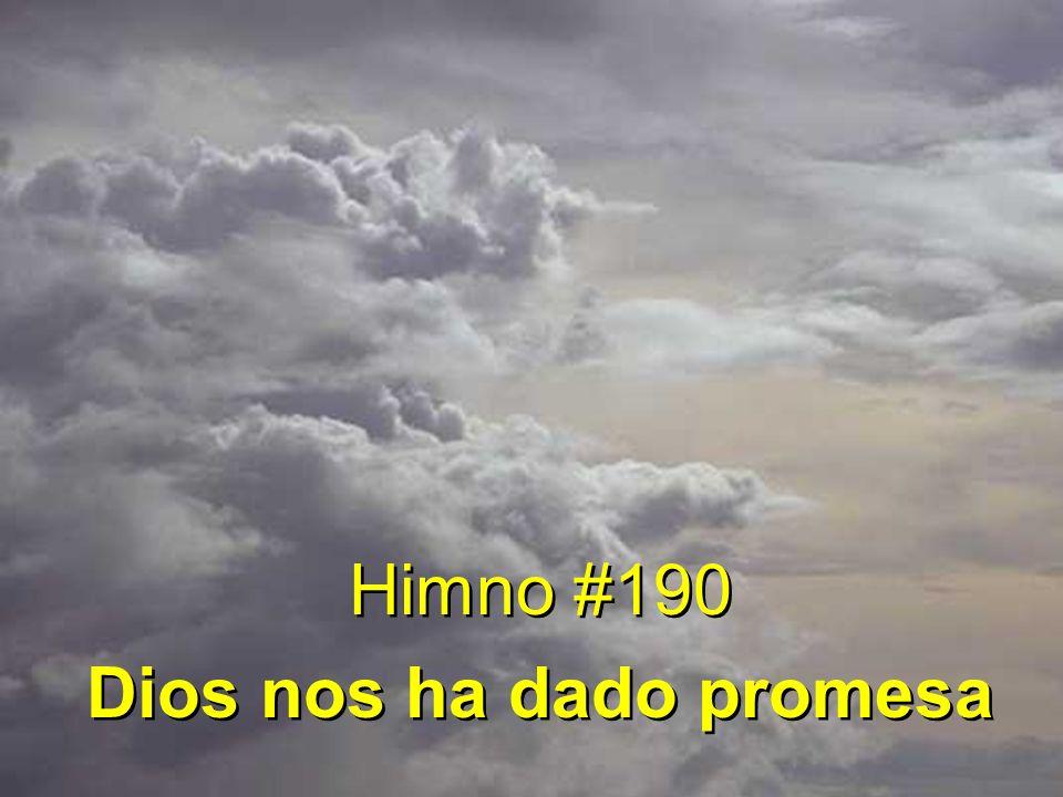 1 Dios nos ha dado promesa: Lluvias de gracia enviaré, dones que os den fortaleza, gran bendición os daré.
