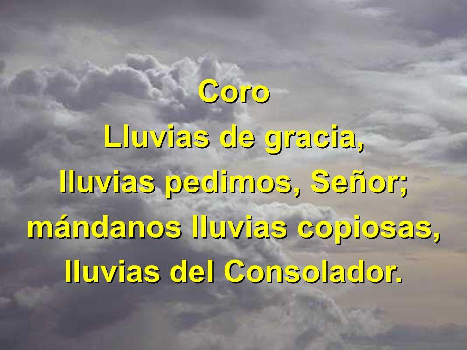 3 Dios nuestro, a todo creyente muestra tu amor y poder; tú eres de gracia la fuente, llenas de paz nuestro ser.