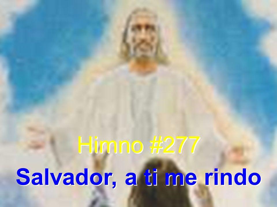 1 Salvador, a ti me rindo, obedezco sólo a ti.