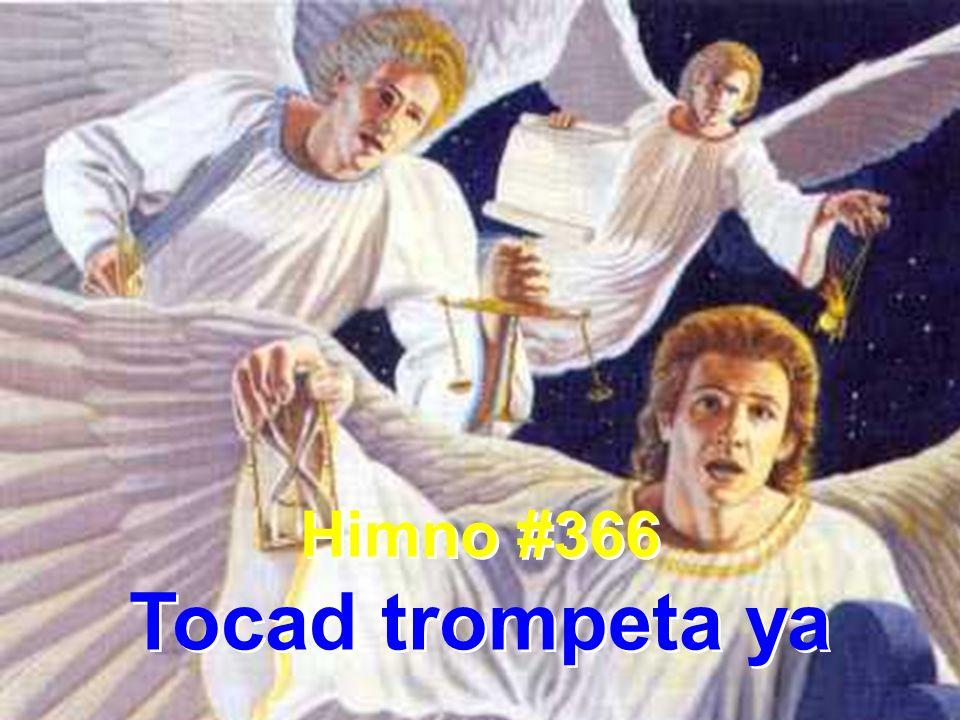1 Tocad trompeta ya, alegres en Sion; al mundo proclamad la eterna redención.