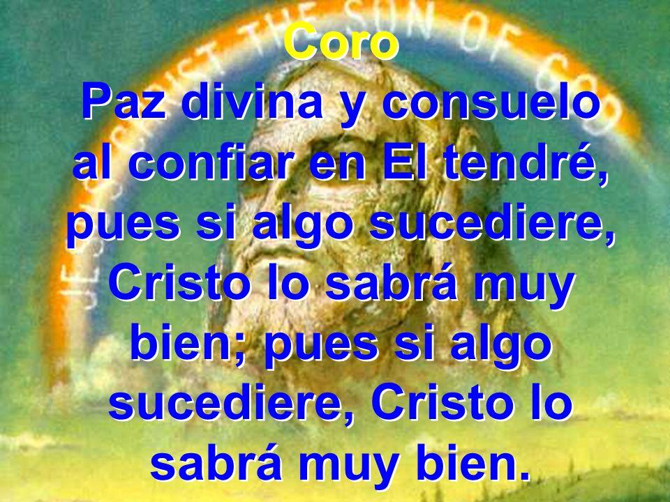 3 Paso a paso Dios me guía De mi afán fatigador, el descanso ha prometido en su reino mi Señor.